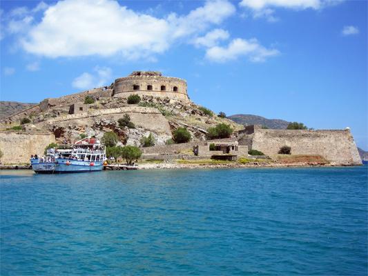 Spinalonga auf Kreta, die Festung