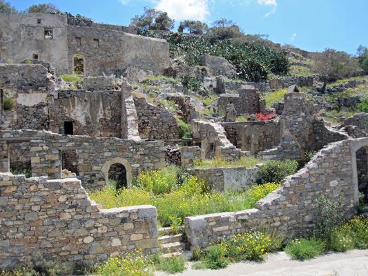 Spinalonga auf Kreta, die Leprastation
