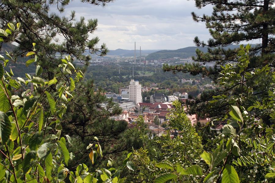 Blick vom Landgraf bei Jena