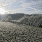 Wintermorgen in Jena