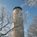Der Fuchsturm im Schnee