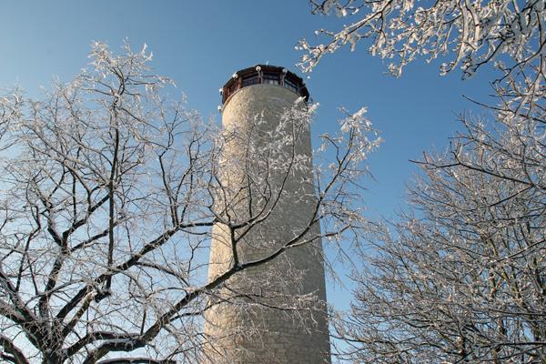Der Fuchsturm im Winter