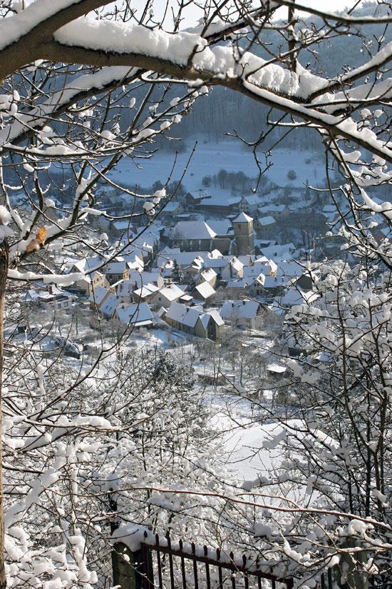 Blick vom Fuchsturm auf Ziegenhain