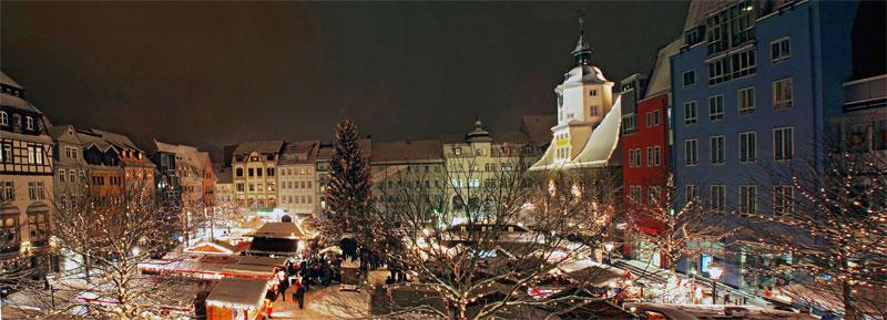 Weihnachtspanorama in Jena