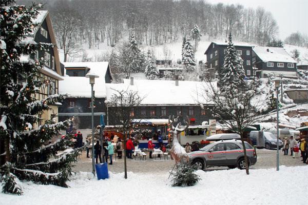 Lauscha im Winterkleid