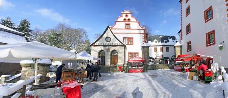 Winterliches Großkochberg