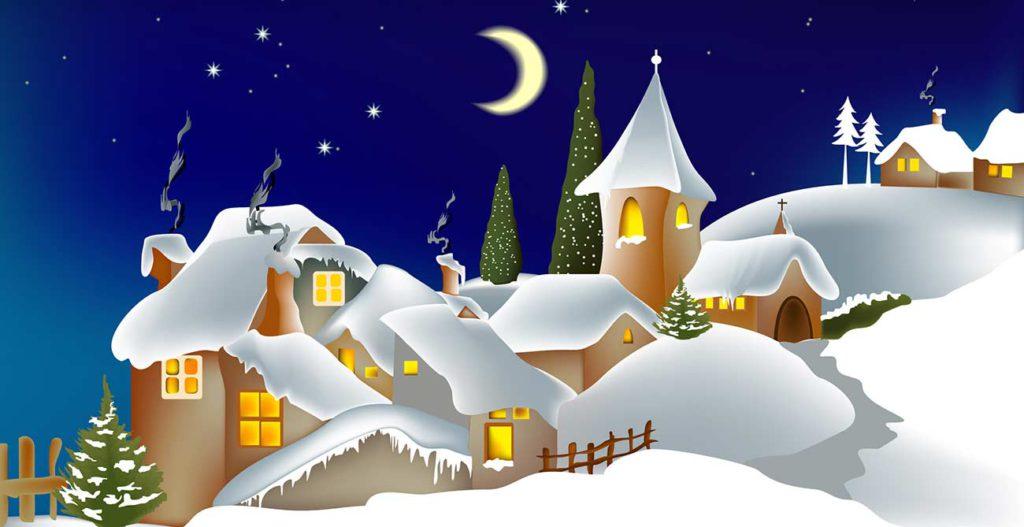 Weihnachten im Schnee