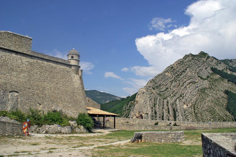 Oben auf der Zitadelle