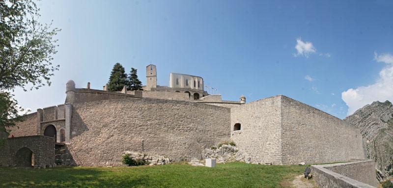 Die Zitadelle von Sisteron