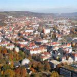 Herbst über den Dächern von Jena