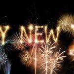 Happy New Year! Bonne Année! Ein glückliches neues Jahr! Felice Anno Nuovo!